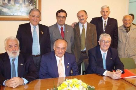 El Gobernador del Distrito 4825 del Rotary Club visitó la sede de Tigre