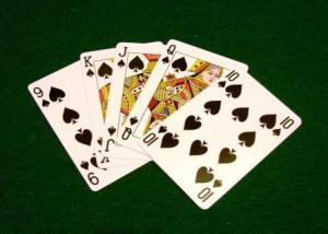 Escalera poker