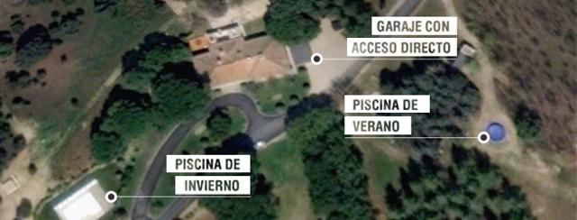 La Casa del Rey pagó con fondos públicos la reforma de la casa de Corinna en El Pardo