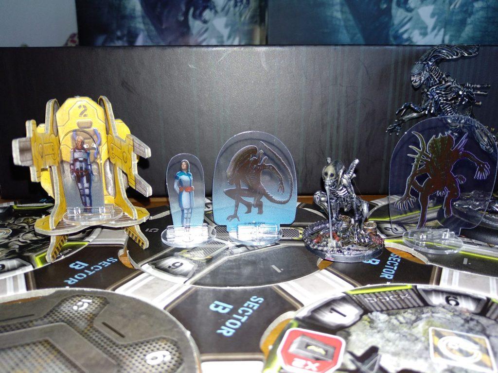 Imagen con los personajes del juego Aliens: Hadley´s Hope