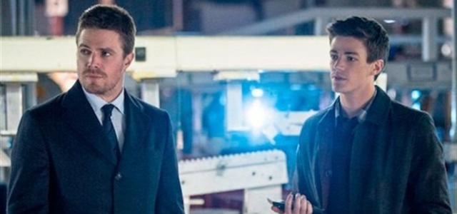 Barry Allen (Flash) en su primera aparición en Arrow