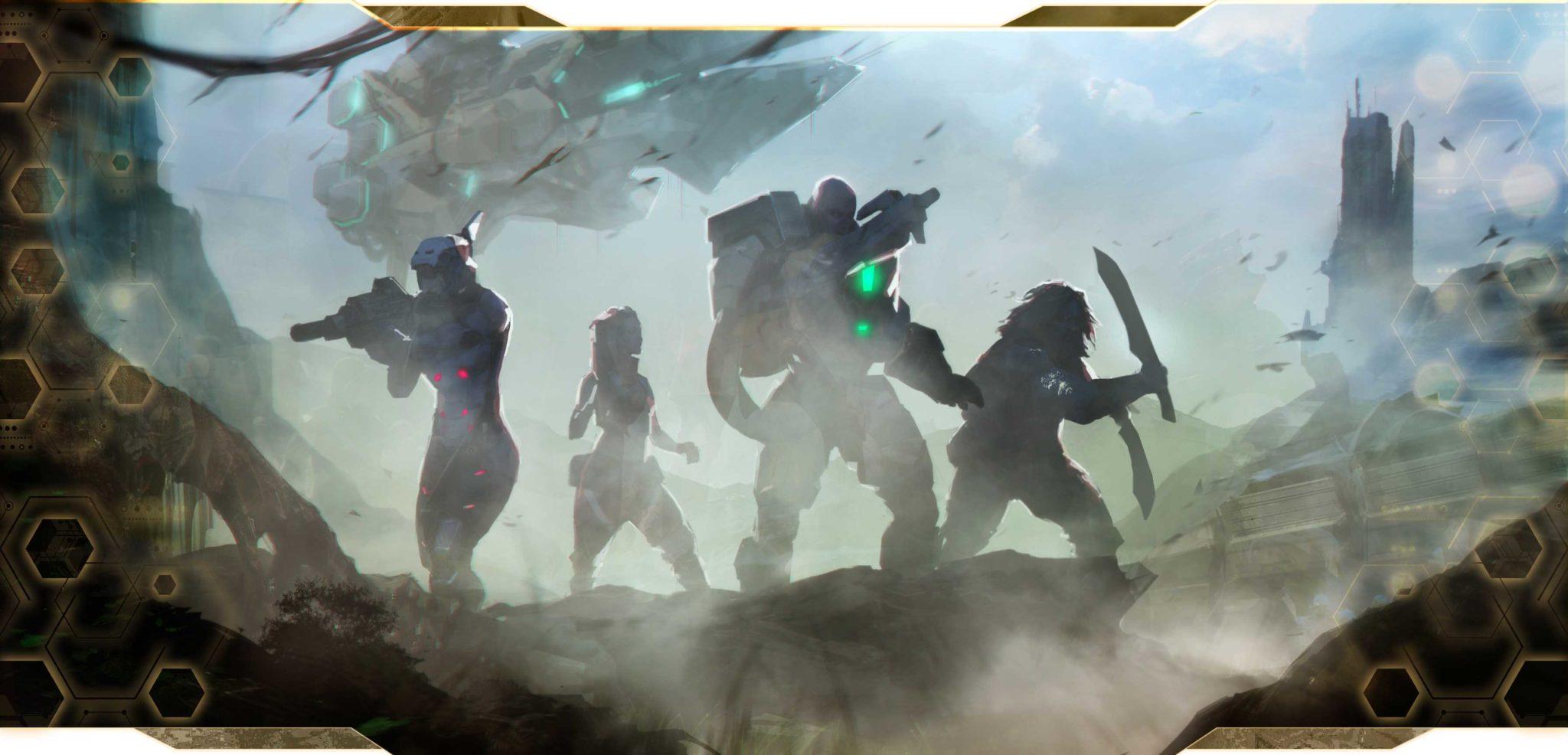 Imagen del presentación de Infinity Defiance