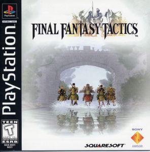 Portada del videojuego Final Fantasy Tactics