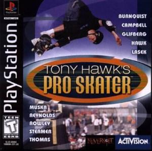 Portada del videojuego Tony Hawk's pro skater