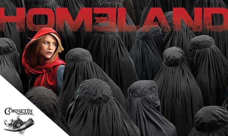 Imagen de cabecera con un póster de Homeland