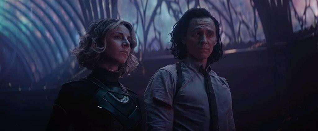 Loki y Sylvie (la misma persona dos versiones diferentes)