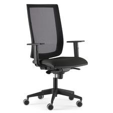 Silla alta ergonoma 4ME estructura negra  Empresas El Corte Ingls