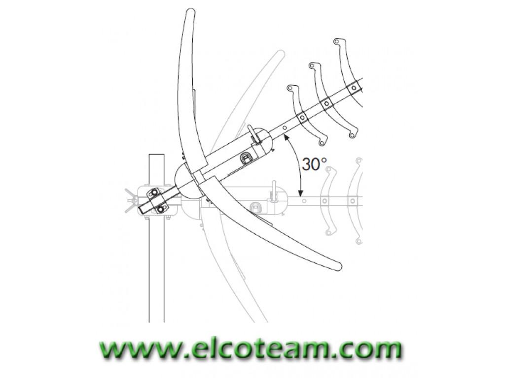 Antenna Uhf Alcad Neo 085