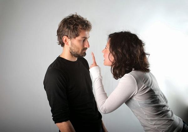 controlling woman