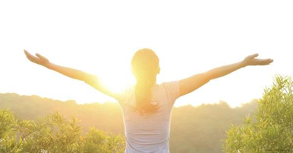 woman under sun
