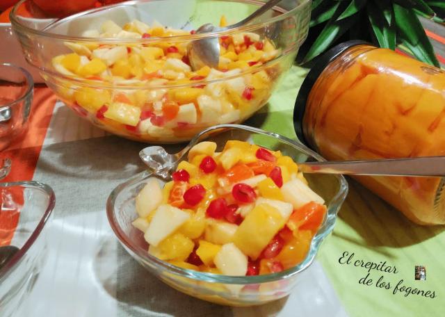 cóctel de frutas