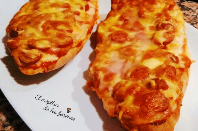 PAN PIZZA O PIZZA DE PAN