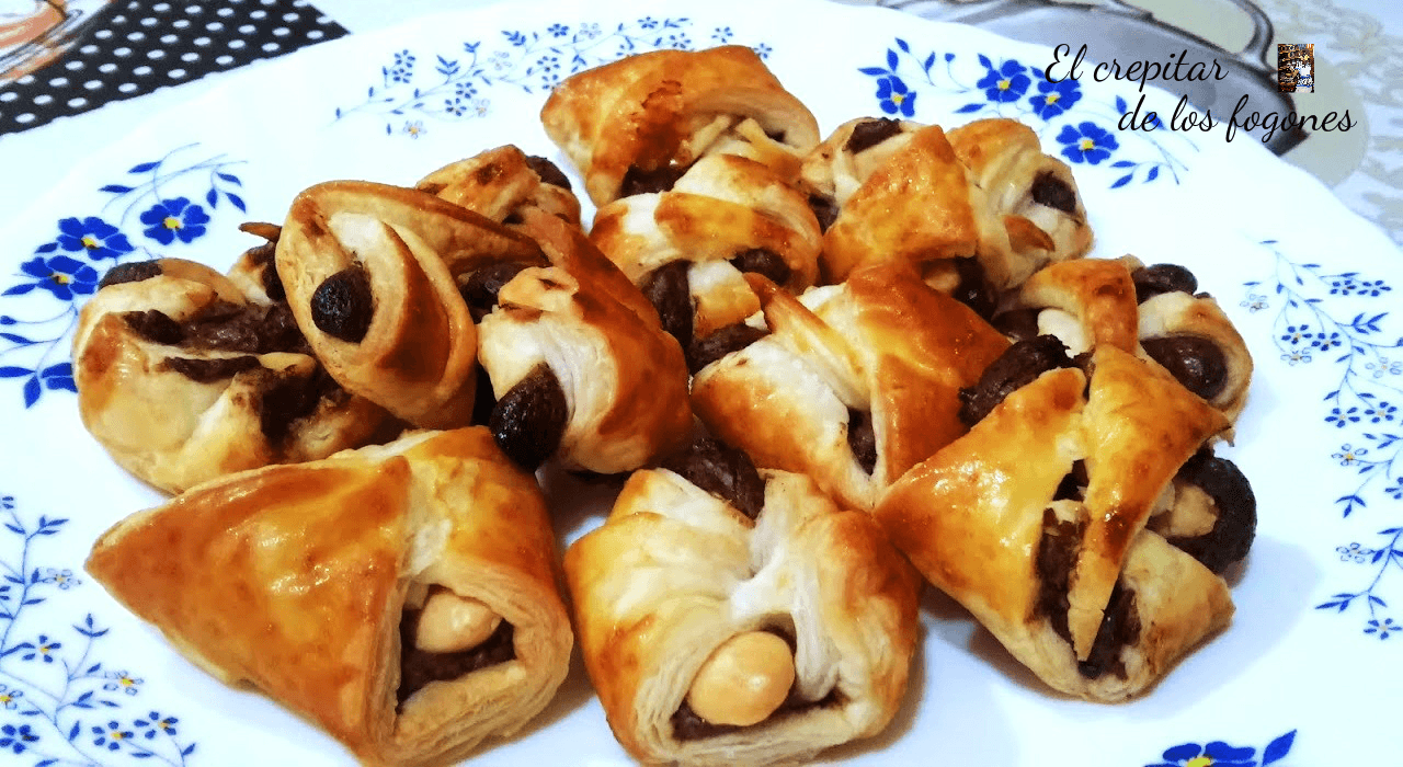DELICIAS DE ALMENDRA Y CHOCOLATE