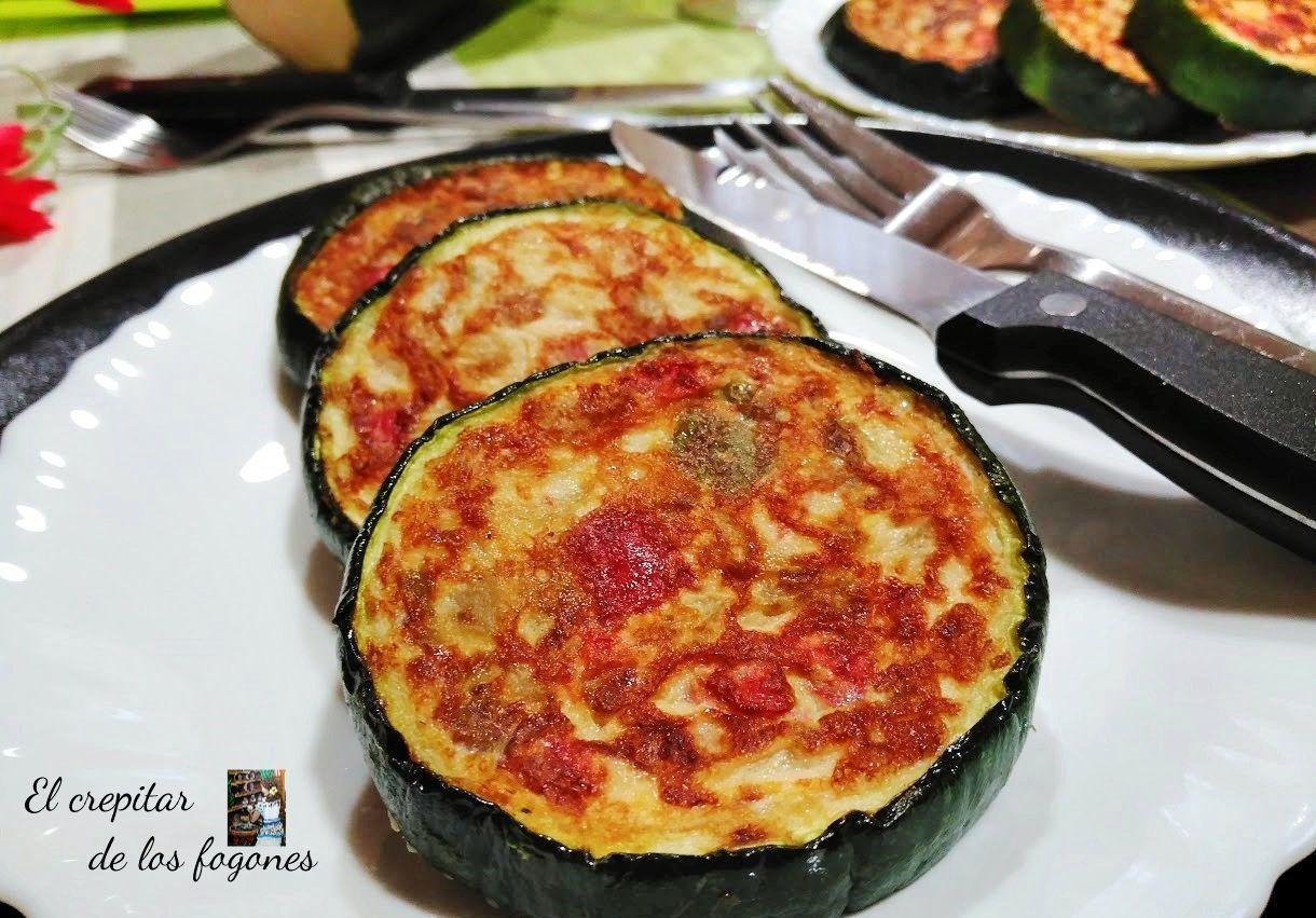 medallones de tortilla vegetal