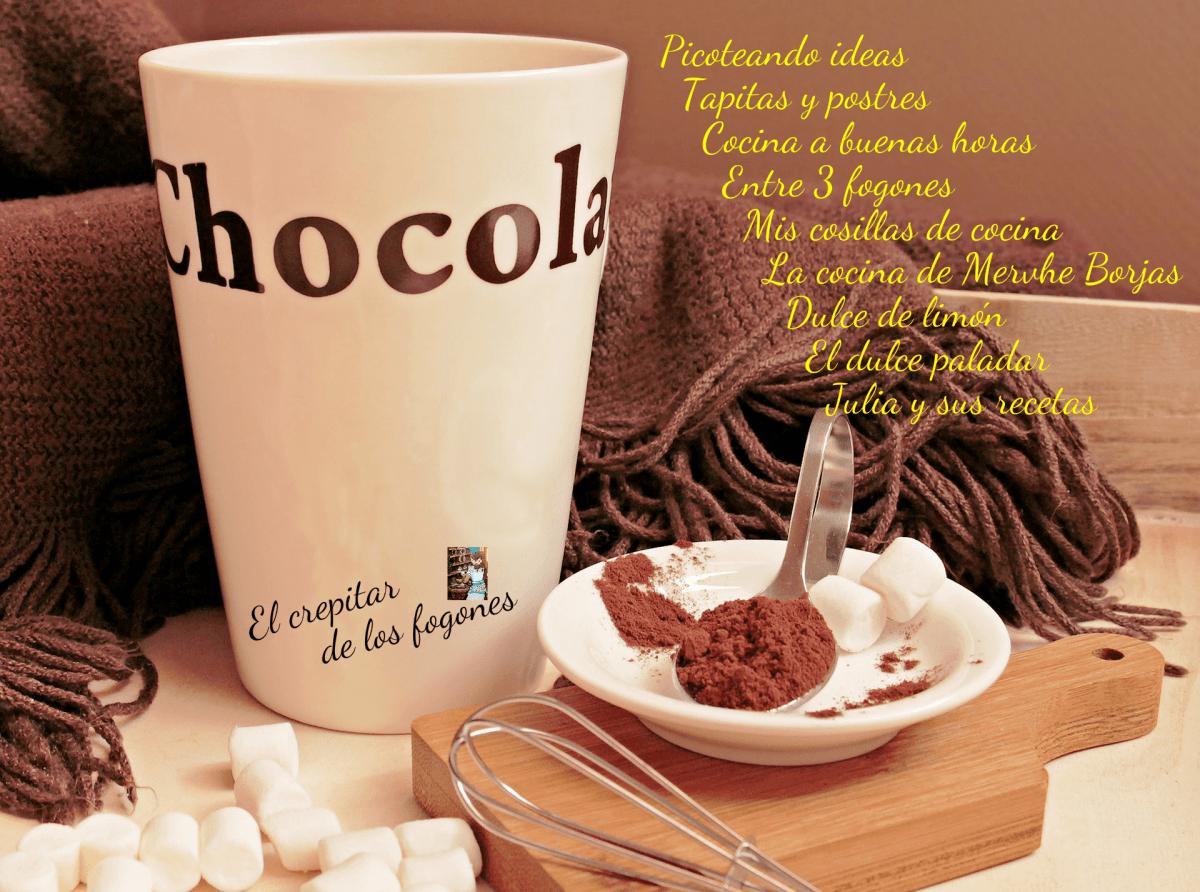 DULCES CON CHOCOLATE PARA NAVIDAD (12 recetas)