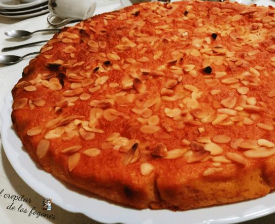 torta almendrada