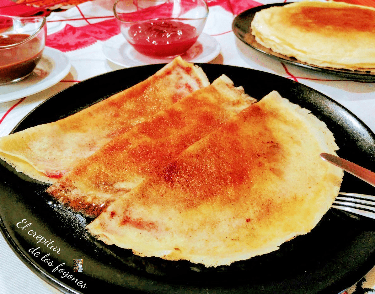 FILLOAS DE LECHE (con chocolate y mermelada)