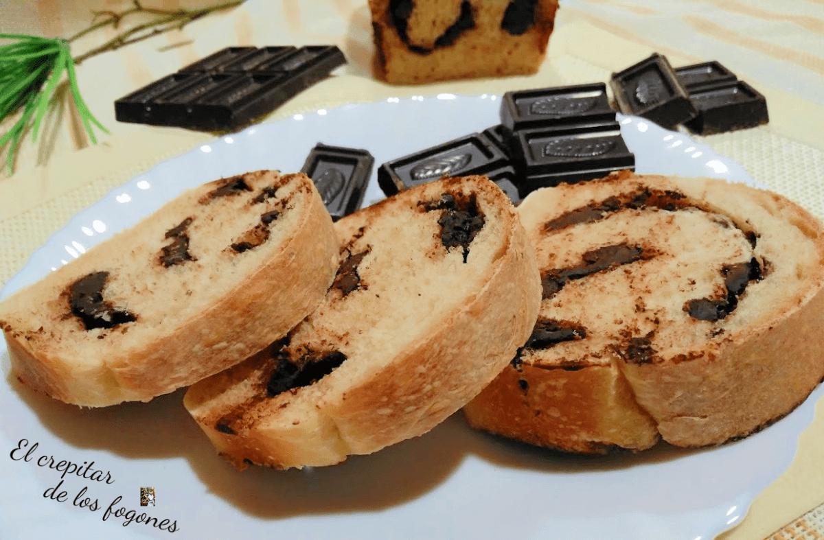 PAN CON CHOCOLATE (la merienda de toda la vida)