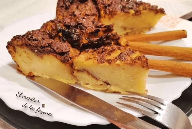 pastel de torrijas