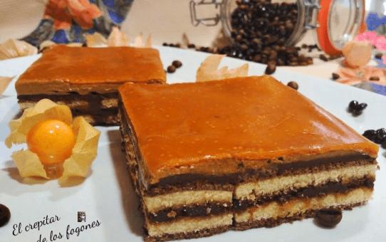 pastel de moka