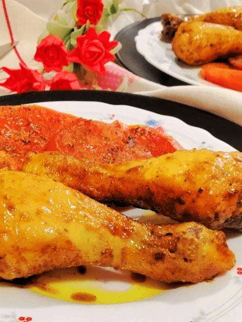 pollo a la mostaza
