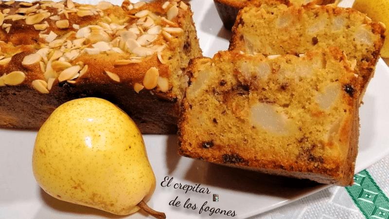 PASTEL DE PERA, ALMENDRA Y CHOCOLATE