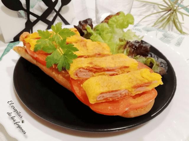 tosta de tortilla