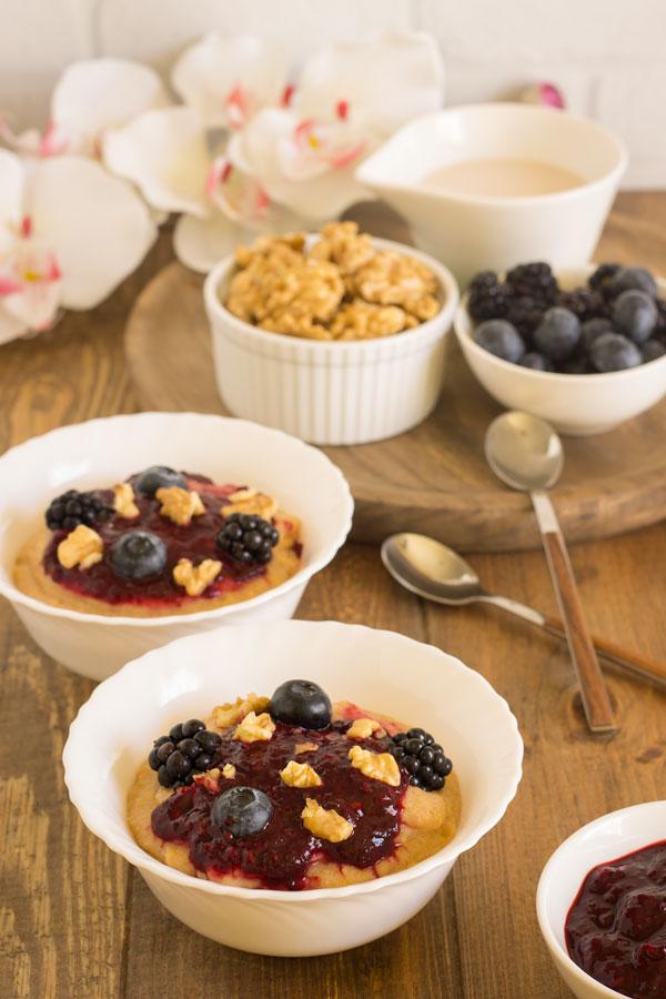 Porridge de polenta