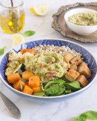 Buddha Bowl con tofu