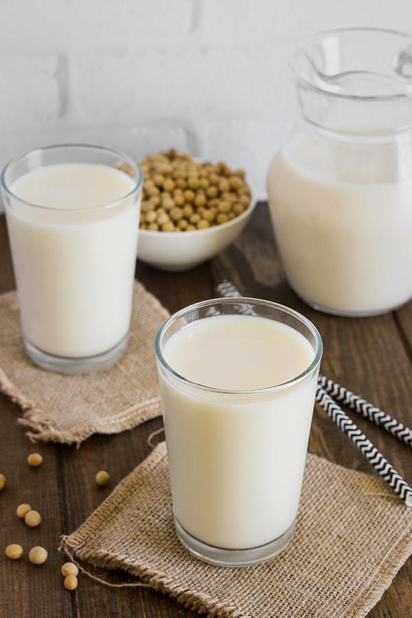 que es la leche de soja