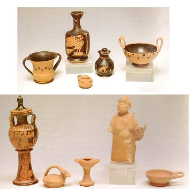 Κτερίσματα από παιδικές ταφές του 4ου και 5ου αιώνα