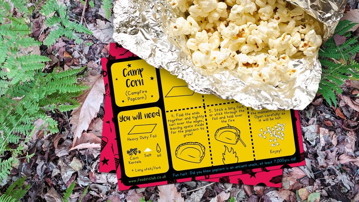 Foodini Campfire Corn