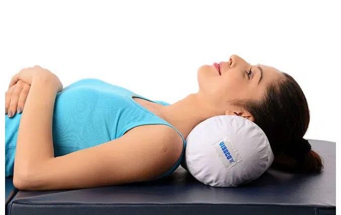 buy vissco cervical pillow round soft
