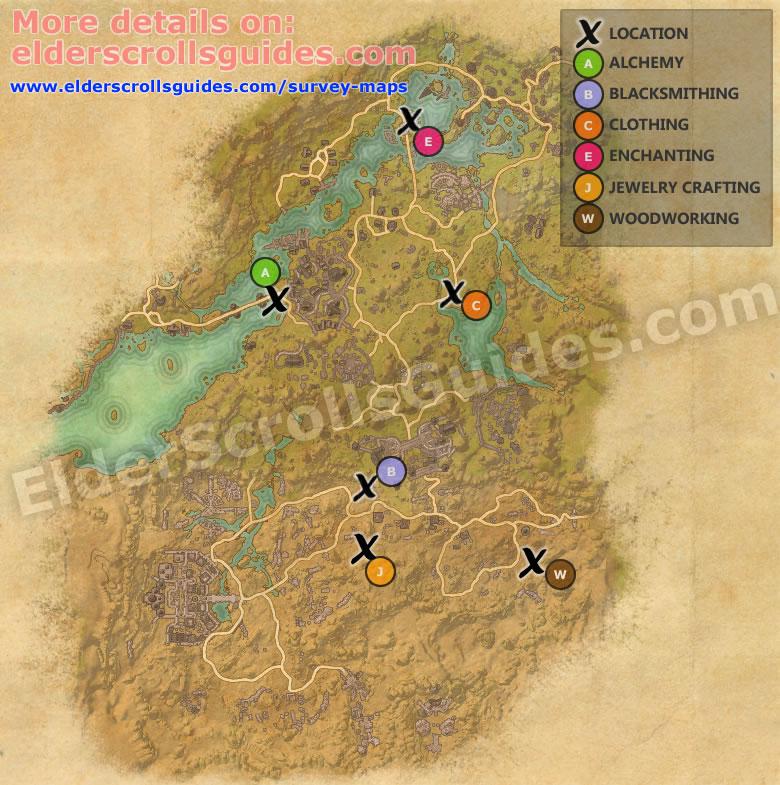 Shadowfen Survey Map