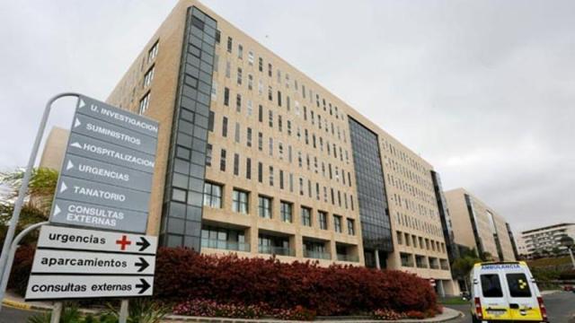 Hospital Universitario Doctor Negrín. (EFE).