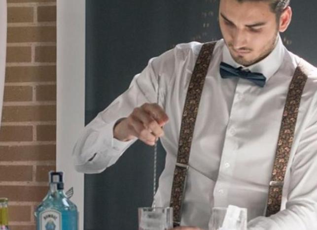 Ivan Martínez, mejor barman joven