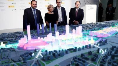 Fomento reinvertirá todo lo que saque por Madrid Nuevo Norte en Chamartín