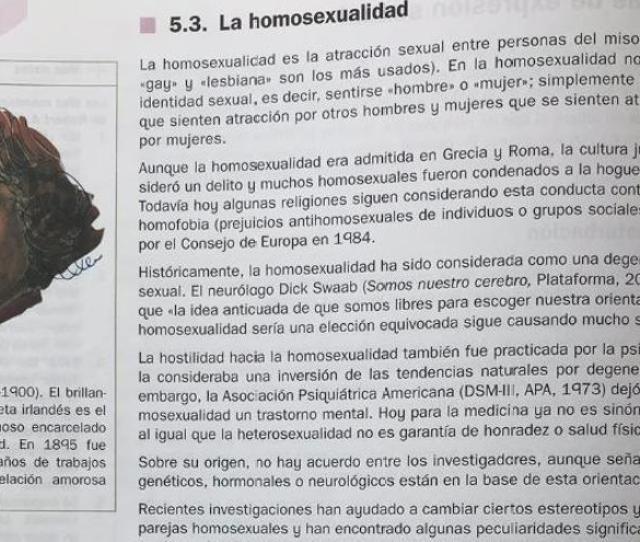 Apartado Del Libro Que Define La Homosexualidad