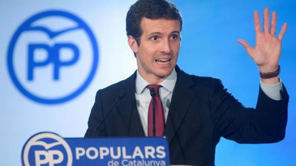 Casado atribuye al Gobierno de Rajoy los buenos datos del paro
