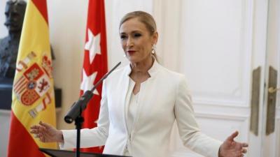 Cifuentes dimite como presidenta del PP de Madrid