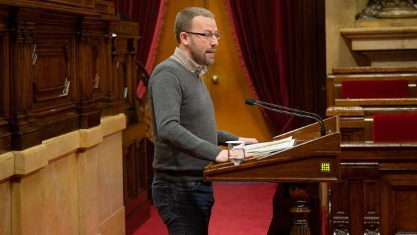 """El Parlament catalán declara """"antidemocrática y antisocial"""" la Constitución"""