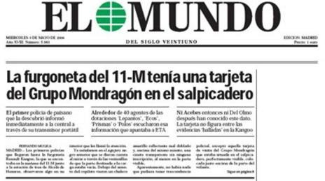 La famosa tarjeta del Grupo Mondragón.