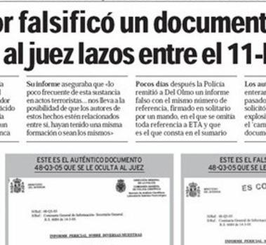 """Los """"lazos"""" entre el 11M y ETA."""