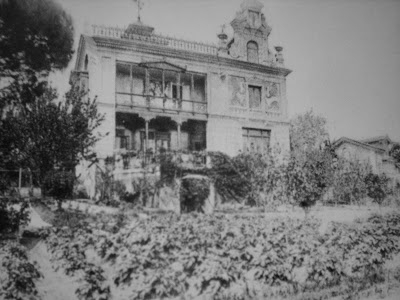 San Quintín, la casa original de Galdós. Colección: J.A. Torcida