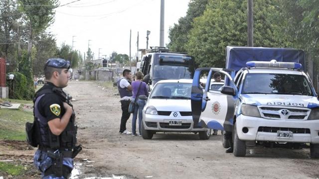 Protesta policial de La Rioja