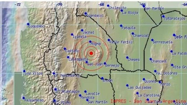 Un sismo causó temor en San Juan