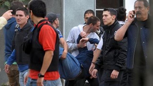 Otra toma en un predio de Lugano terminó con incidentes
