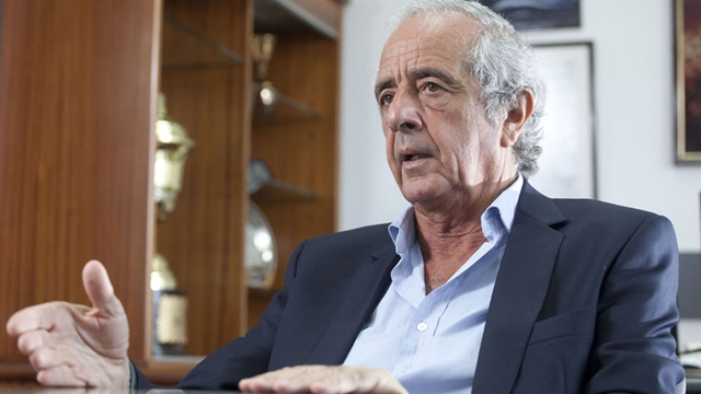 DEP - Rodolfo D'Onofrio, presidente de River Plate. Buenos Aires, 26-12-2013
