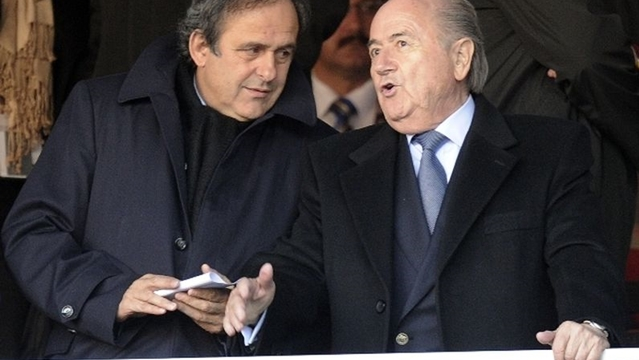 Blatter Platini II