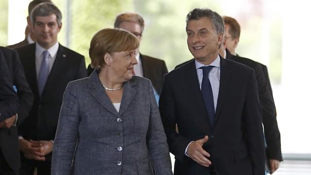 Macri Merkel